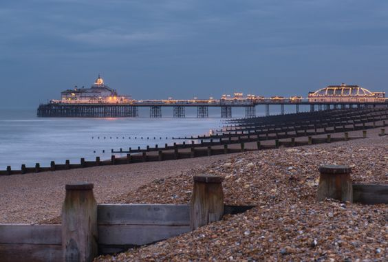 (PHOTO: Getty Creative)  Britain's happiest towns: Eastbourne  According to the Met Office, Eastbourne is the sunniest place in the UK. With beautiful coastal scenery and plenty of Vitamin D to go around, Eastbourne residents have plenty to be happy about.