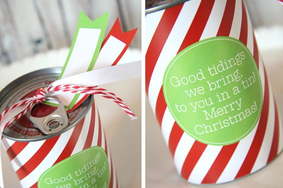 Tin can gifts