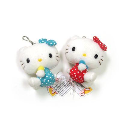 Polka dot 'Hello Kitties'