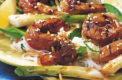 La Salade de vermicelles et porc teriyaki est une autre délicieuse façon de savourer le porc du Québec. Découvrez toutes nos recettes.