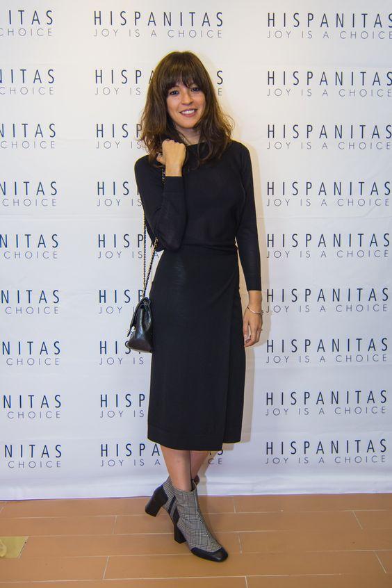 Verónica Sánchez en la inauguración Hispanitas Flagship.