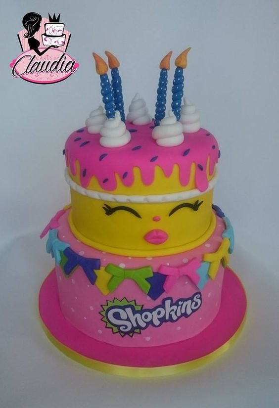 Shopkins: Cakes by Claudia, facebook: