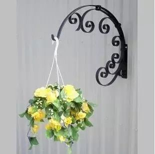 Online Shop Modern Home Decor Creative Hanging Flower Stand As Wall Decor Three Colors Available12 99 X11 In 2020 Plant Wall Metal Plant Hangers Decorated Flower Pots