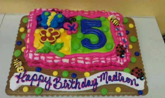 Maddies 5th birthday cake