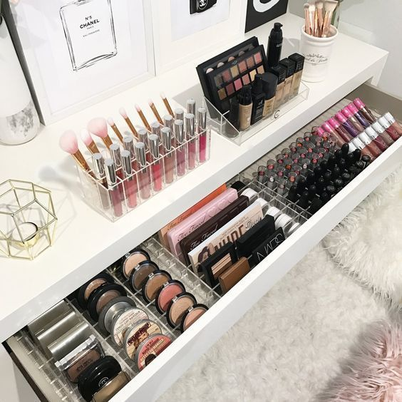 Amazing Makeup Organisation Home Organisation Ideas And Inspiration Organisation Maquillage Rangements Maquillage Boite Rangement Maquillage