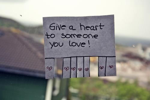 Give them away...