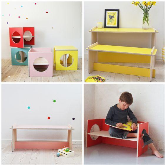 hello, Wonderful - SMALL DESIGN: PLAYFUL FUNCTIONAL KIDS FURNITURE