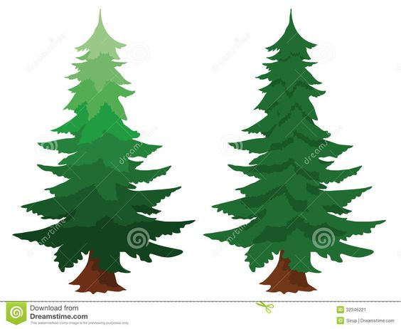 Forest Frame Pine Tree Wilderness Fotosearch Search Clipart - Free ...