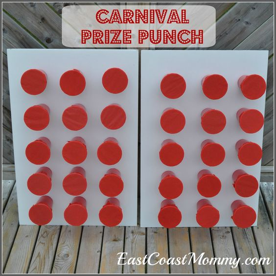 diy prize punch carnival games carnival prizes and my boys