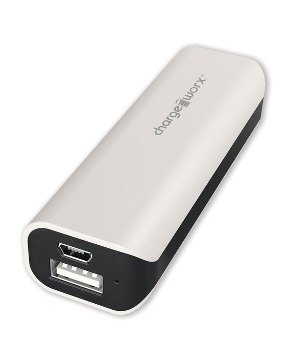 Chargeworx 2000mAh Rechargeable Power Bank