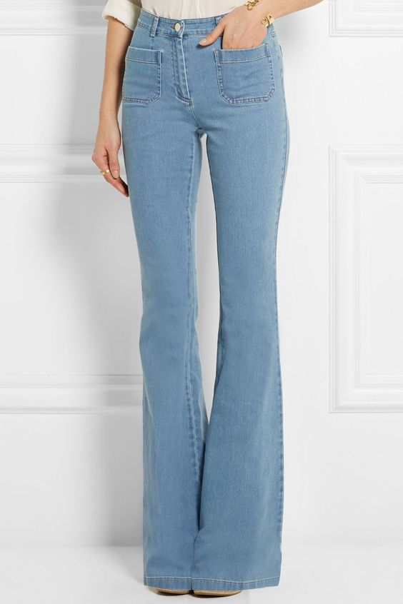 Pin for Later: 11 Reasons to Trade In Your Skinny Jeans ASAP! Michael Kors High-Rise Flared Jeans Michael Kors High-Rise Flared Jeans (£290)