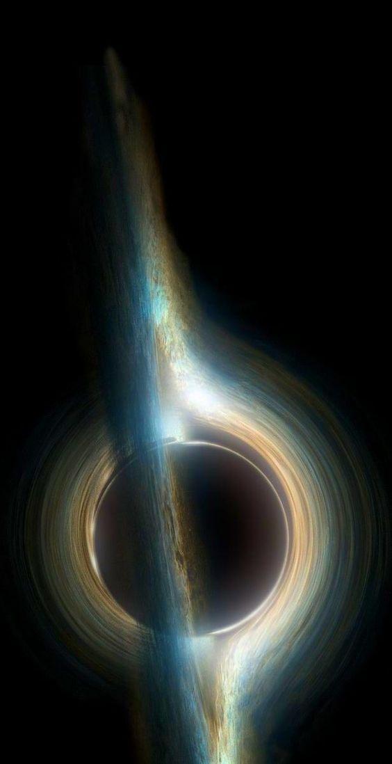 Intestellar Gargantua Black Hole Diytattooimages Space Art Black Hole Wallpaper Hubble Images Black Holes Black hole live wallpaper iphone