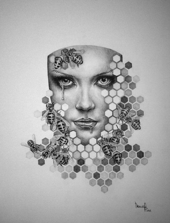 Queen Bee by Monica Lee-zephyrxavier on deviantART