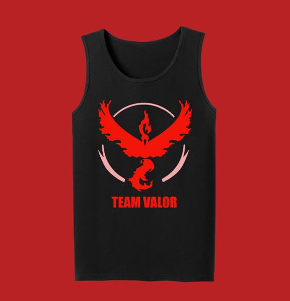 Team Valor Pokemon Go Tank Top by InksterInc on Etsy