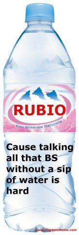 Rubio Agua #UniteBlue #SOTU