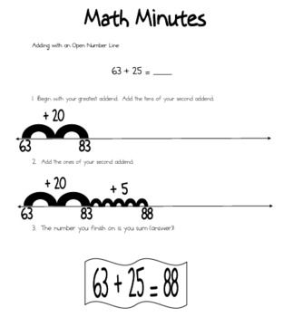 Number lines, Open number line and Numbers on Pinterest