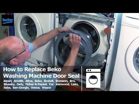 Washing Machine Dismantle And Rebuild Bosch Classixx 1200 Express Drum Noise Fix Youtube Washing Machine Door Seals Washing