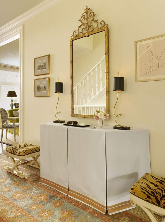Foyer Table Tv : Flats skirts and tv console tables on pinterest