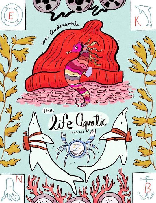 Life Aquatic by Natalie Andrewson