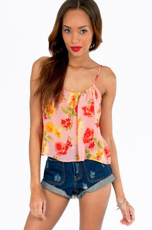 Come Flow With Me Top $32 at www.tobi.com