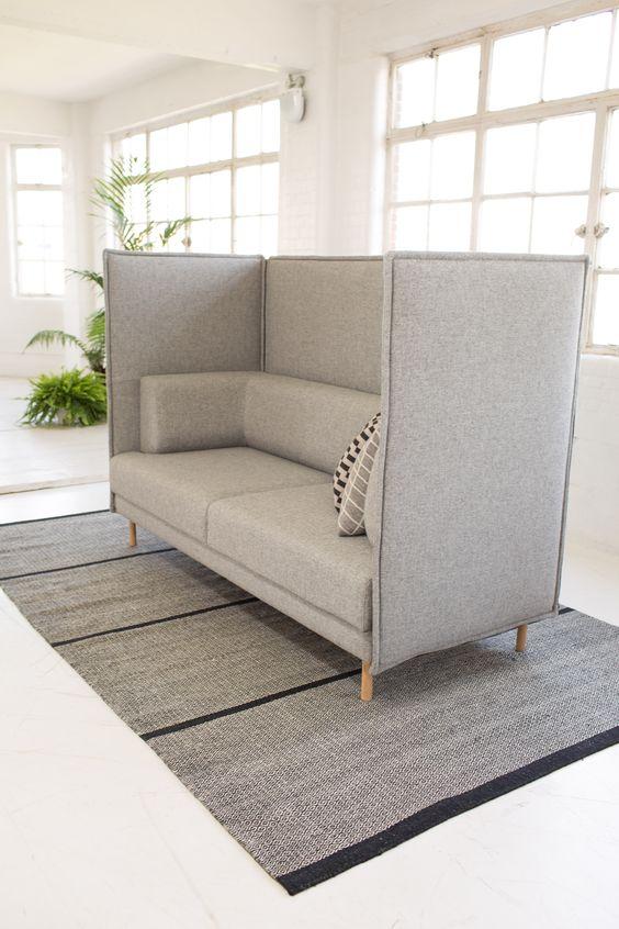 Private Sofa Sofa Furniture Workspace Design