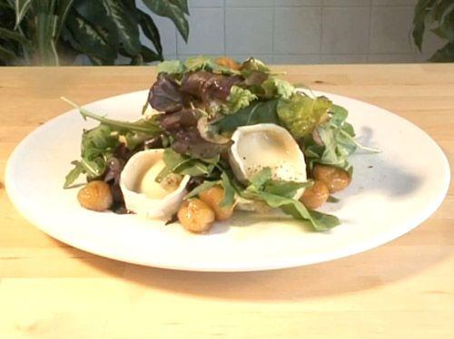 #SaladRecipe #GlazedChestnut&GoatsCheeseSalad