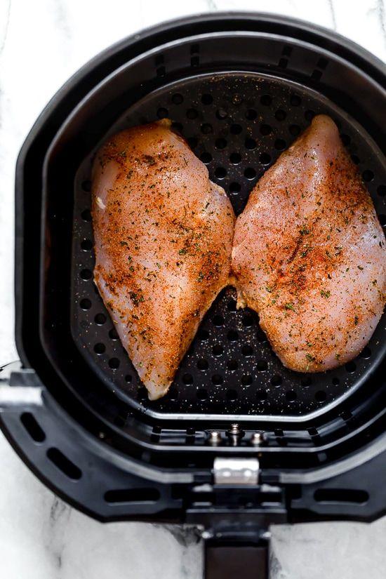 air fryer chicken breast recipes breaded