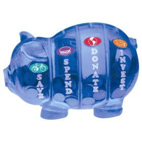 Saving made easy: Piggy Bank, For Kids, Money And Finance, Kids Ideas, Finance Tips, Kids Better, Kid Stuff, Bank Save, Kids Presents