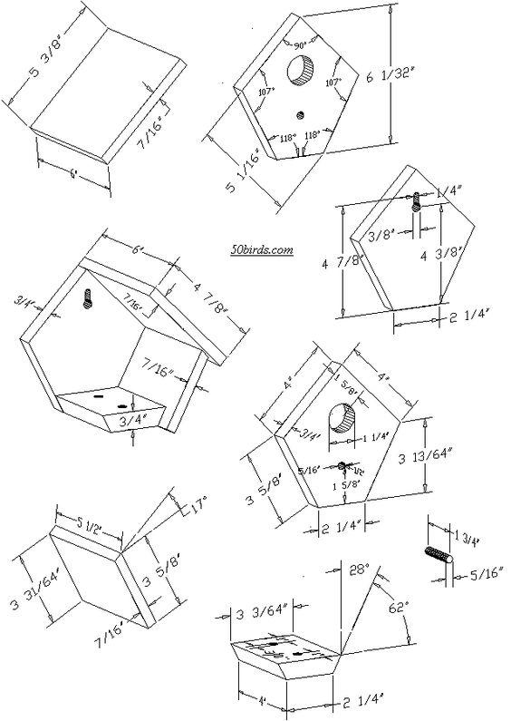 36 best bird house plans images on pinterest bird house plans bird houses and bird feeders