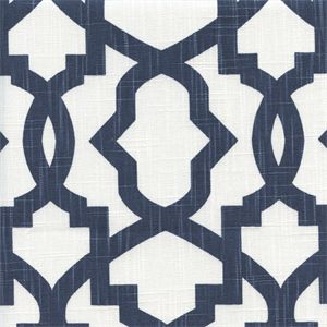 This is a beautiful premier navy miller slub contemporary drapery fabric by…
