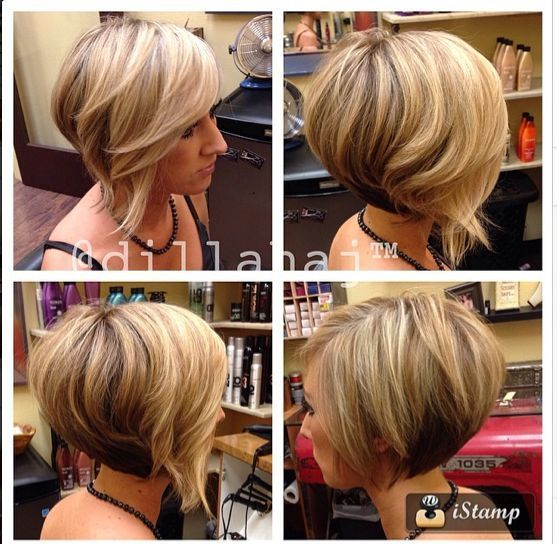 Stacked Bob Haircuts For Round Faces Bob Haircut For Round Face Round Face Haircuts Bob Hairstyles