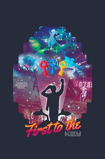 Ready Player One First To The Key Poster By Marylinram18 In 2020 Ready Player One Ready Player One Movie Ready Player One Merchandise