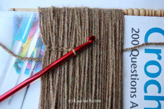 How to Crochet Dolls Hair (easy)