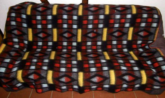 vintage retro blankets dekens wolldecke March 2015
