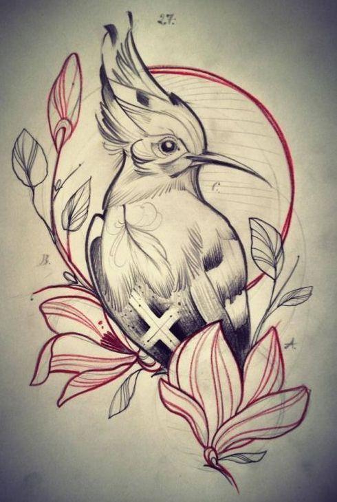 Bird Tattoo Design Tattoos Bird Drawings Art Animal Tattoos