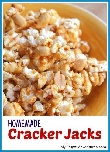 Homemade Cracker Jacks | Recipe | Homemade, Peanuts and ...