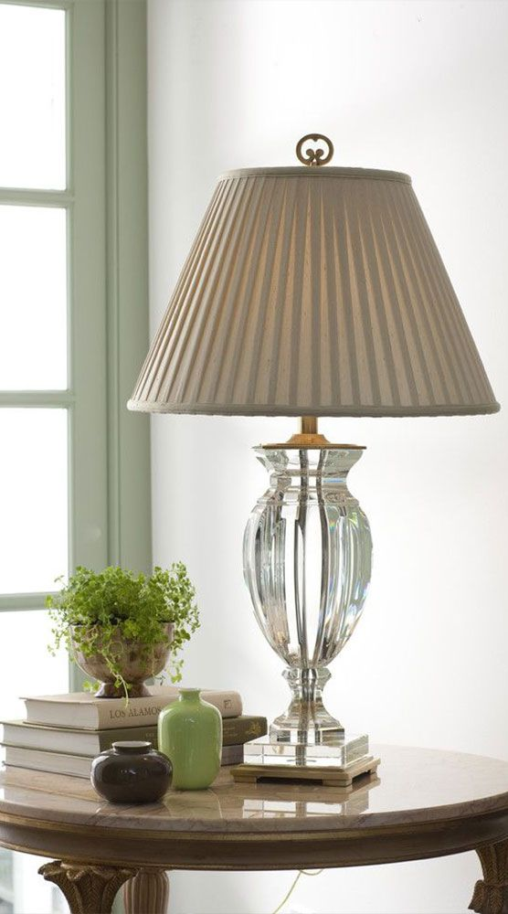 Solid Crystal Lamp In 2020 Table Lamp Small Glass Vases Decor