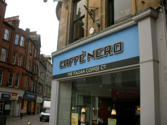 The best café in Stirling, Scotland