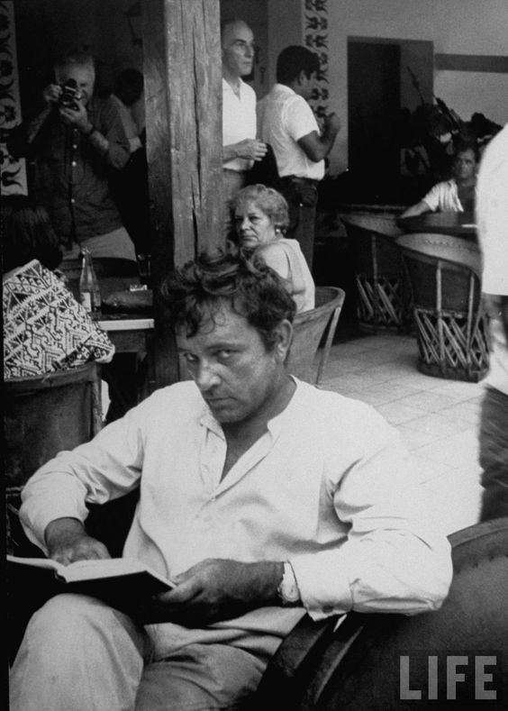 Richard Burton. A touch tortured. Passion unbridled. I'm okay with that. ~ Danielle: