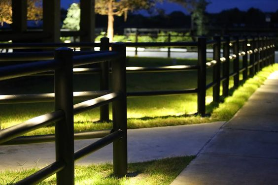 The EquiSafe LED Lighting System is the latest addition to our extensive product line. The lighting fixtures are available in two colors, white or black, to create a nice blend with the customized fence color. The lights use only 1-watt LED light bulbs, and will continue to illuminate for over 50,000 hours.: