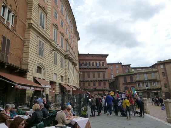 Piazza del Campo, Siena Italia (Marzo)