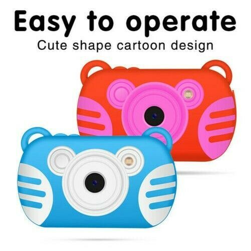 Photo Stabilisateur Mignon Cartoon Jouet Numerique Video Camera Etanche Cadeaux Kids Camera Kids Digital Camera Camera Gift