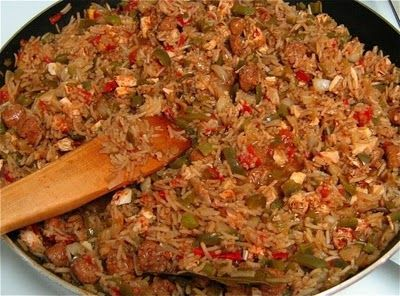 Cajun Jambalaya with chicken, sausage, and creole spices | Yum ...