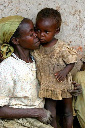 Uganda: A Mother's Love by g e o f f, via Flickr
