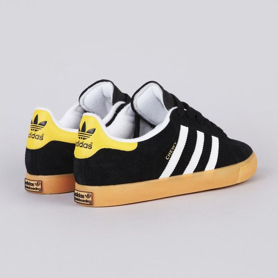 Adidas Campus Vulc 'Chewy' Black1 / Running White FTW / Sun