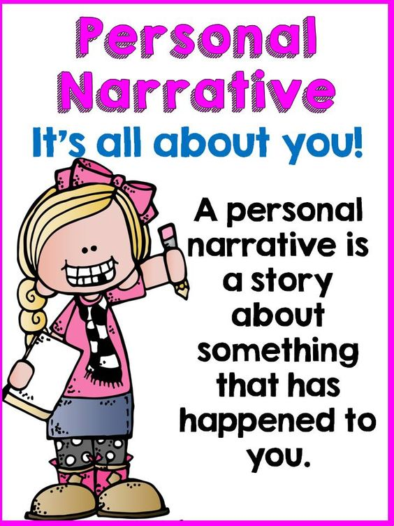 how to write an objective personal narrative