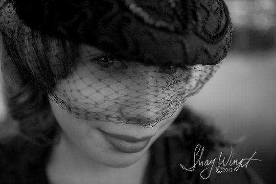 Simple portrait in her favorite hat.