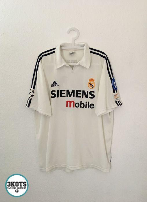 Real Madrid 2002 03 Portillo Home Football Shirt Xl Adidas Vintage Soccer Jersey Adidas Realmadrid In 2020 Football Shirts Vintage Football Shirts Soccer Shirts