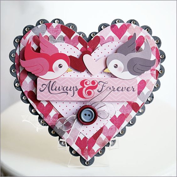 Valentine's Love Card for Imaginisce