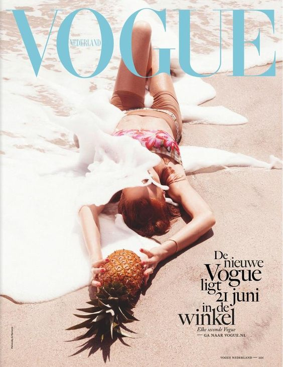 Vogue Cover- Ocean Pineapple